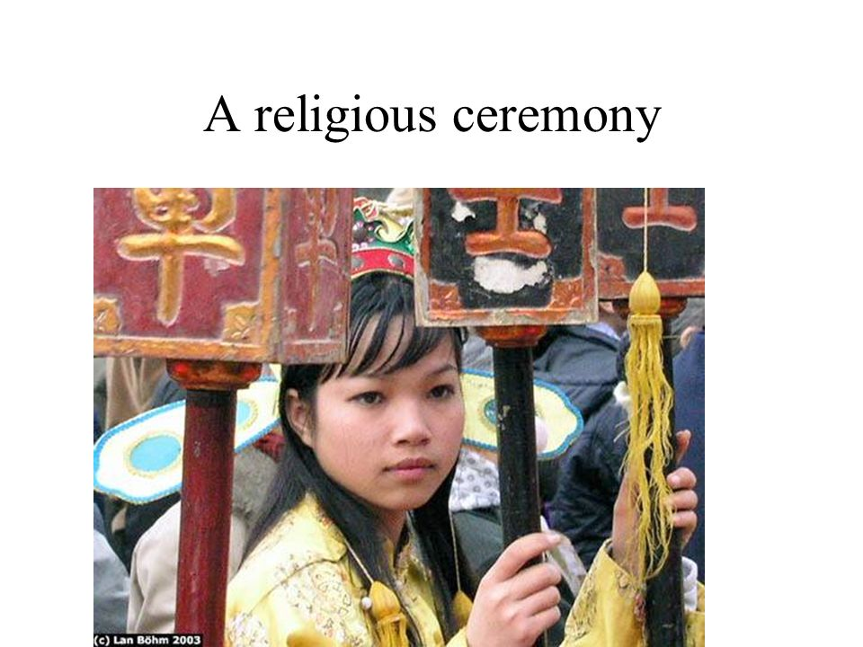 A religious ceremony