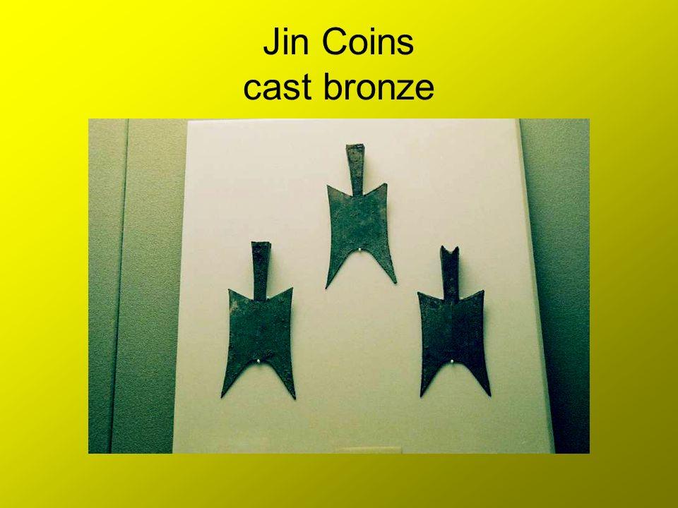 Jin Coins cast bronze