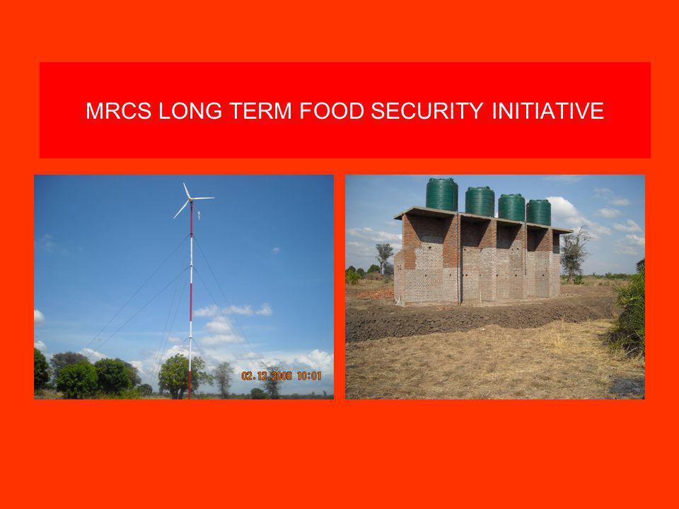 MRCS LONG TERM FOOD SECURITY INITIATIVE