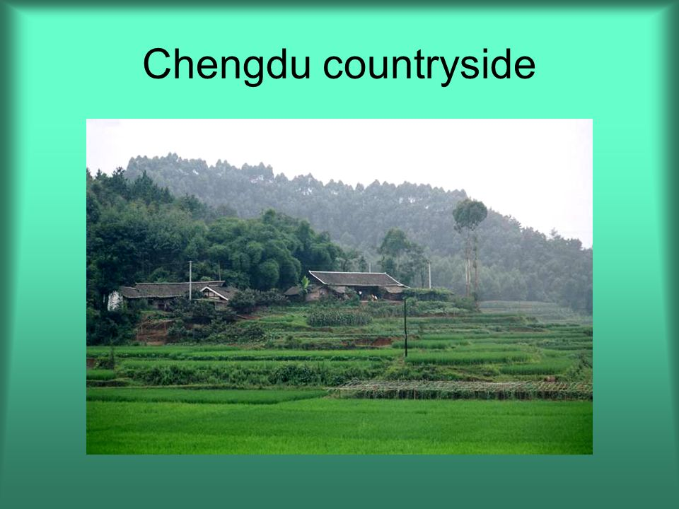 Chengdu countryside