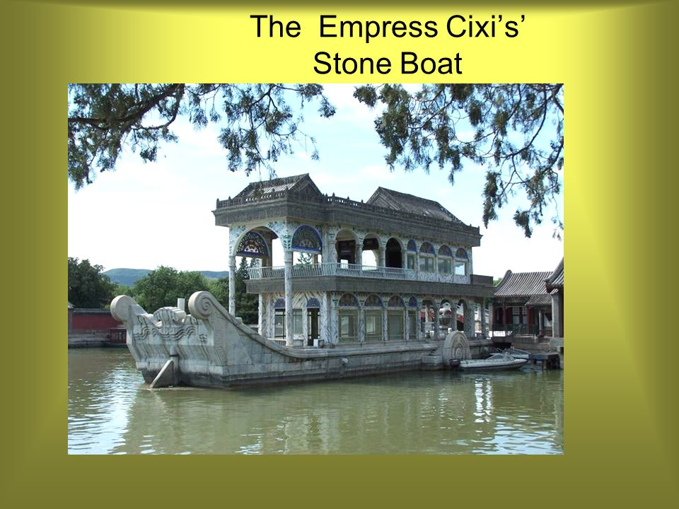 The Empress Cixis Stone Boat
