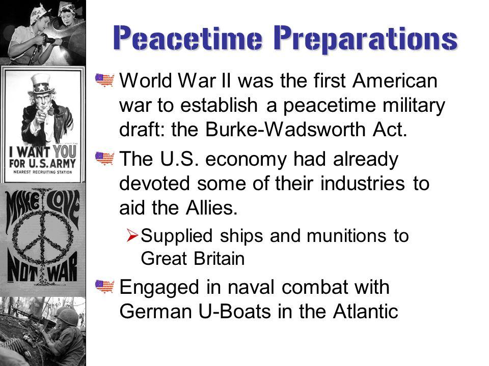 Wartime Effort: World War II
