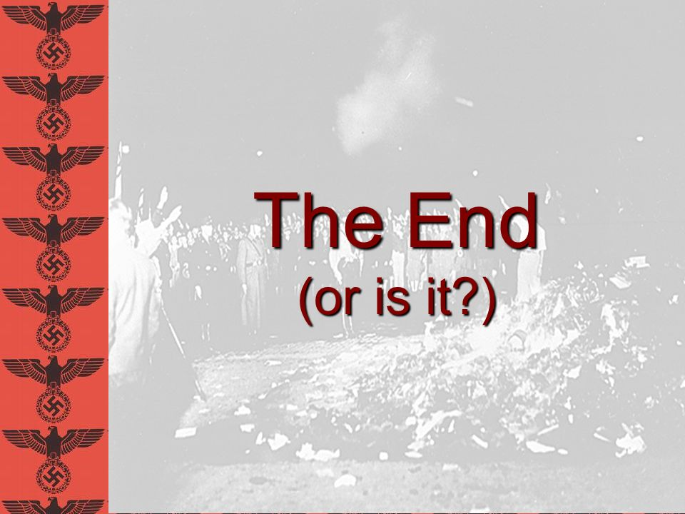 The End (or is it?)