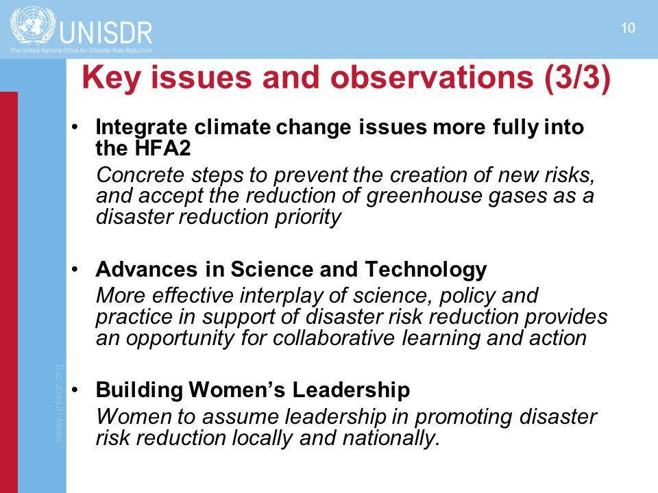 www.unisdr.org 11 Consultations at the GPDRR