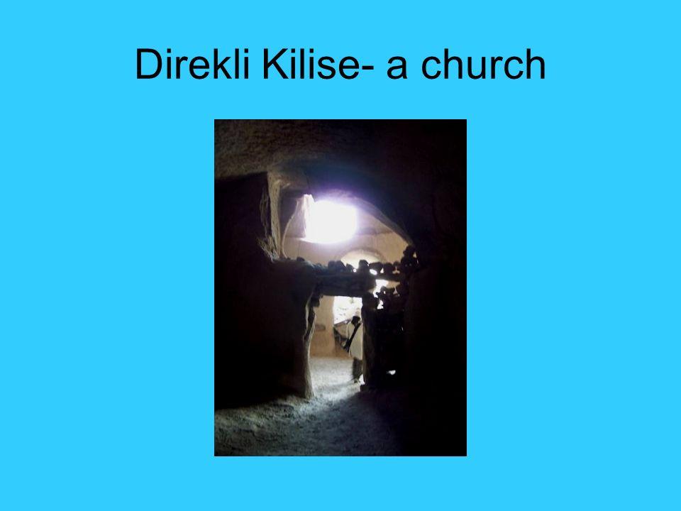 Direkli Kilise- a church