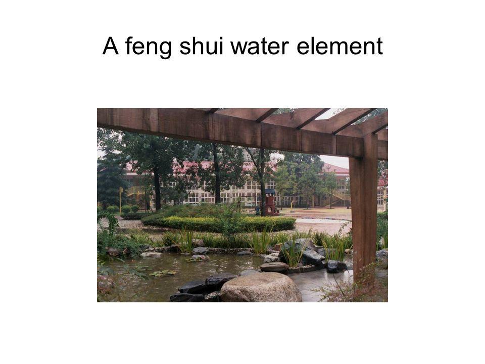 A feng shui water element