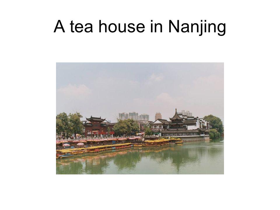 A tea house in Nanjing