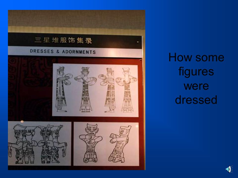How some figures were dressed