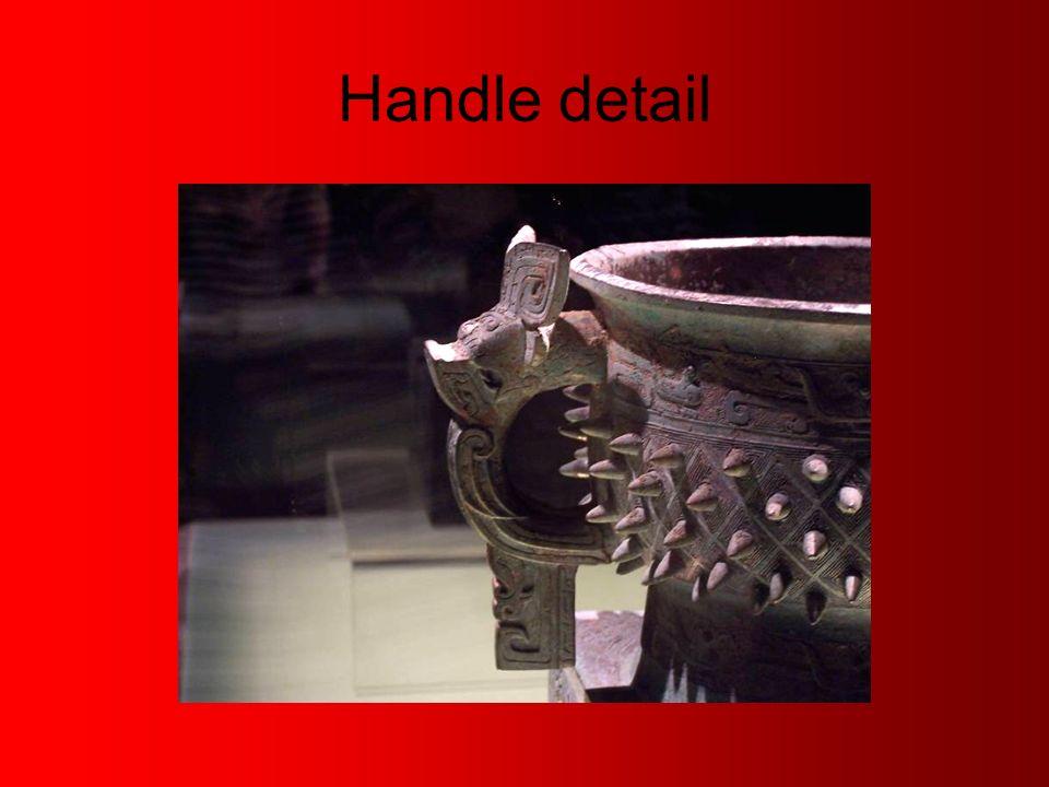 Handle detail
