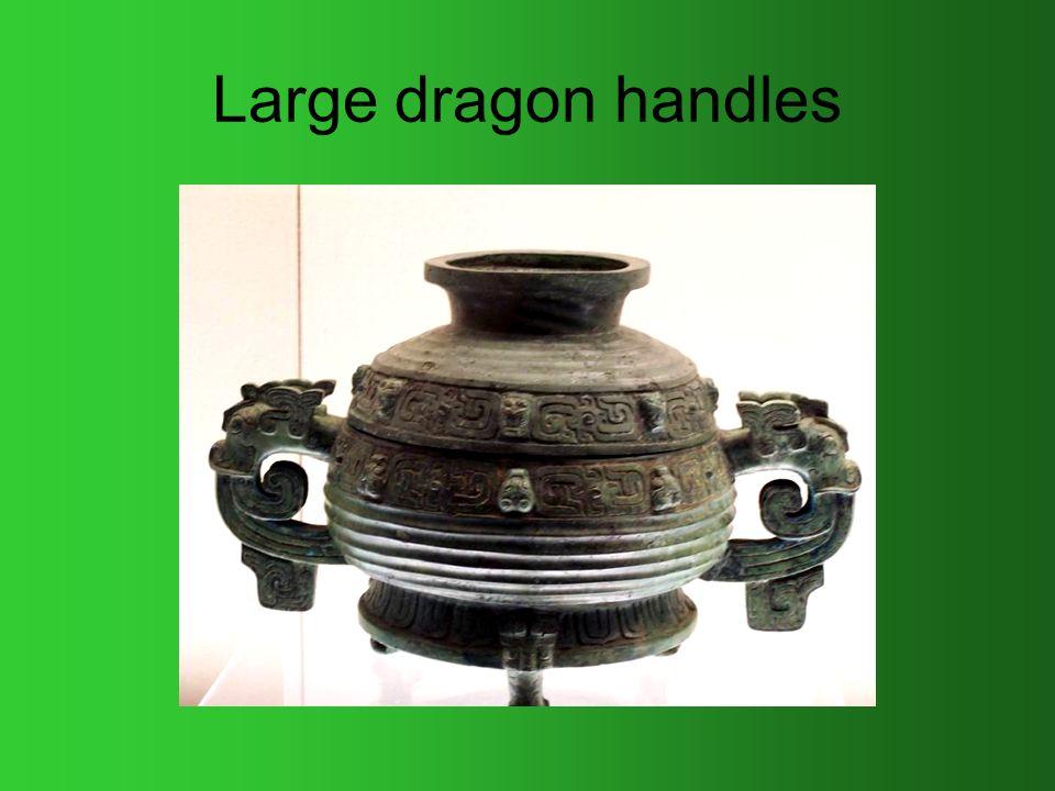 Large dragon handles