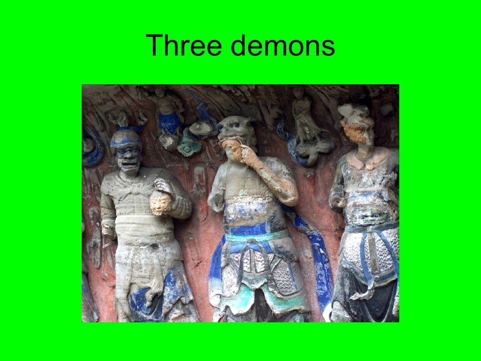 Three demons