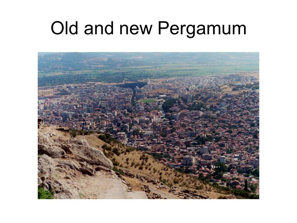 Old and new Pergamum