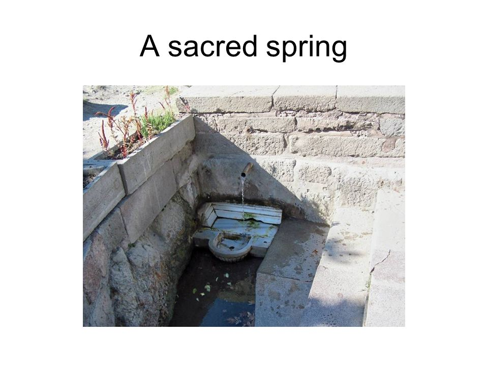 A sacred spring