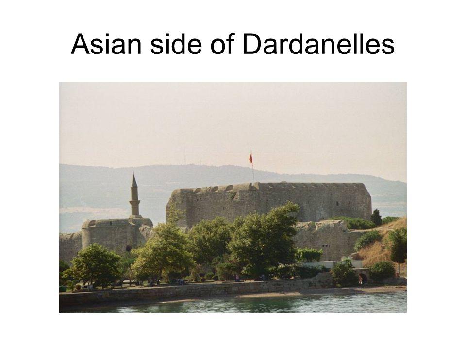 Asian side of Dardanelles