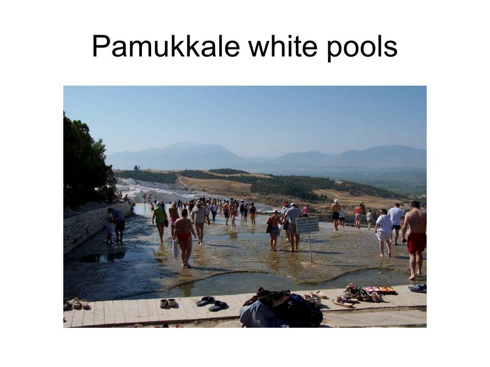 Pamukkale white pools