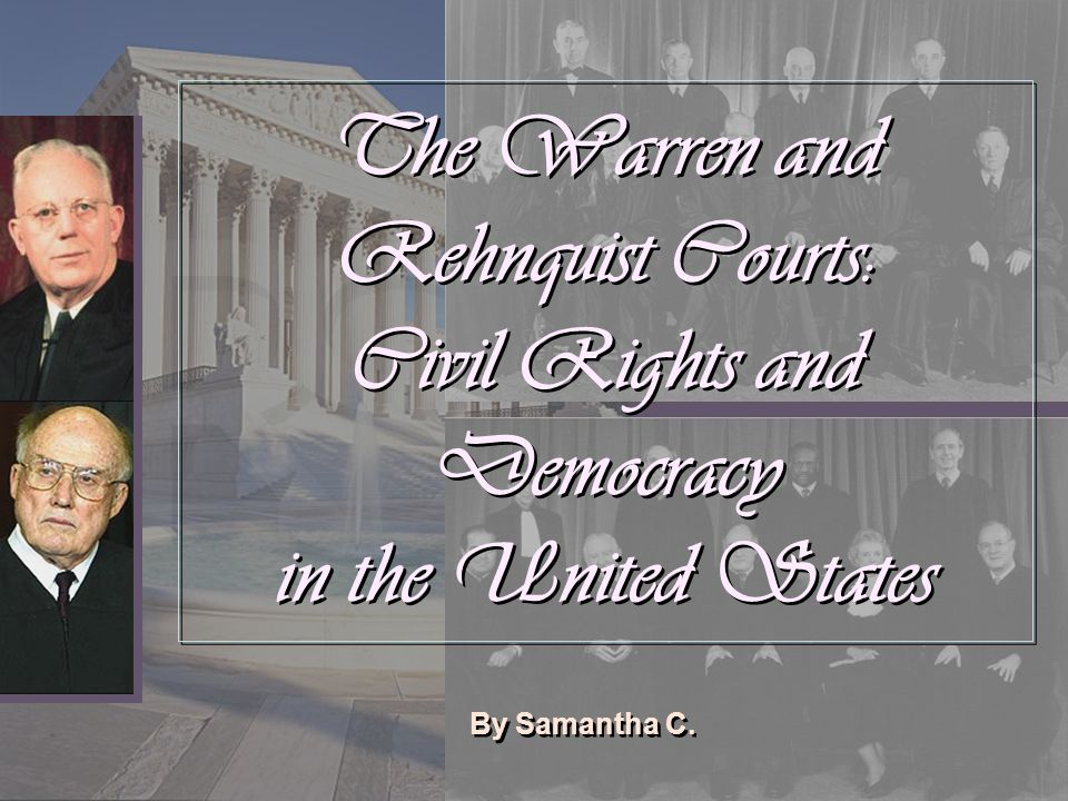 The 2000 Election and the Rehnquist Court