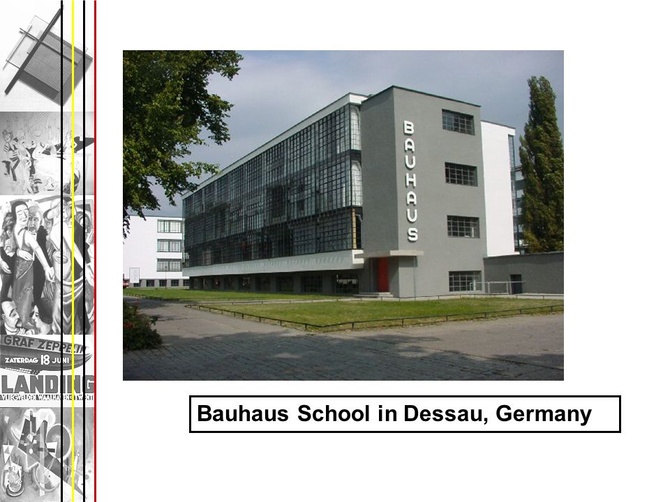 Bauhaus School in Dessau, Germany