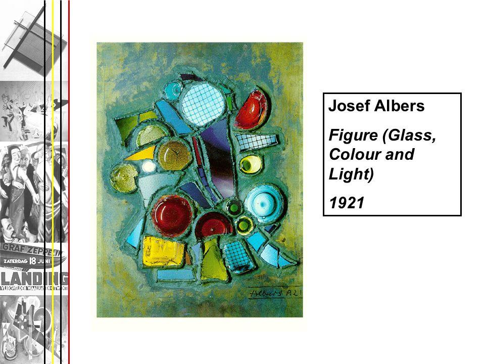 Josef Albers Figure (Glass, Colour and Light) 1921