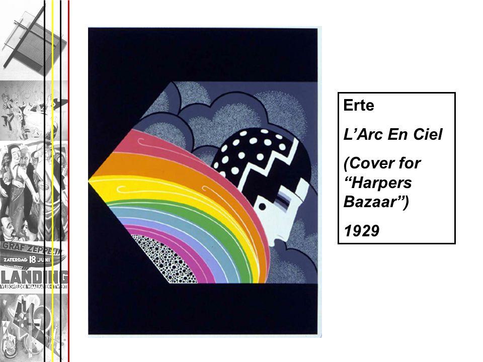 Erte LArc En Ciel (Cover for Harpers Bazaar) 1929