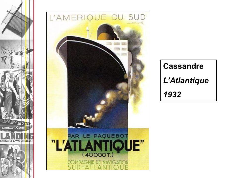 Cassandre LAtlantique 1932