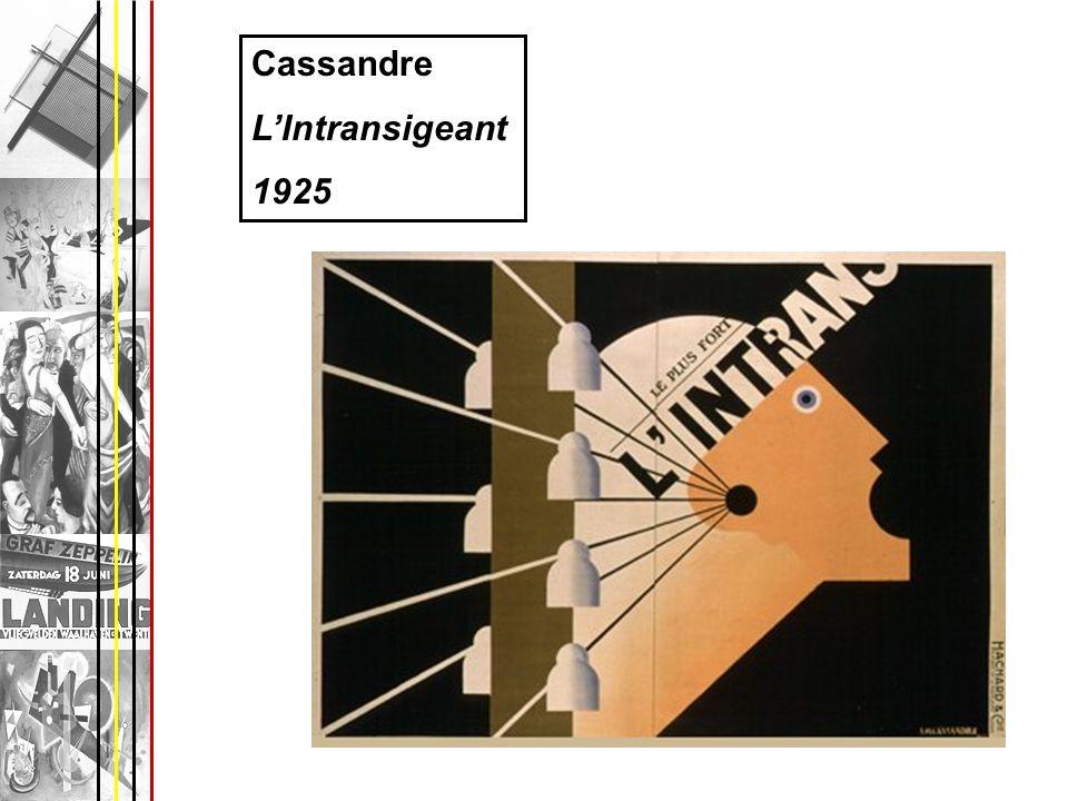 Cassandre LIntransigeant 1925