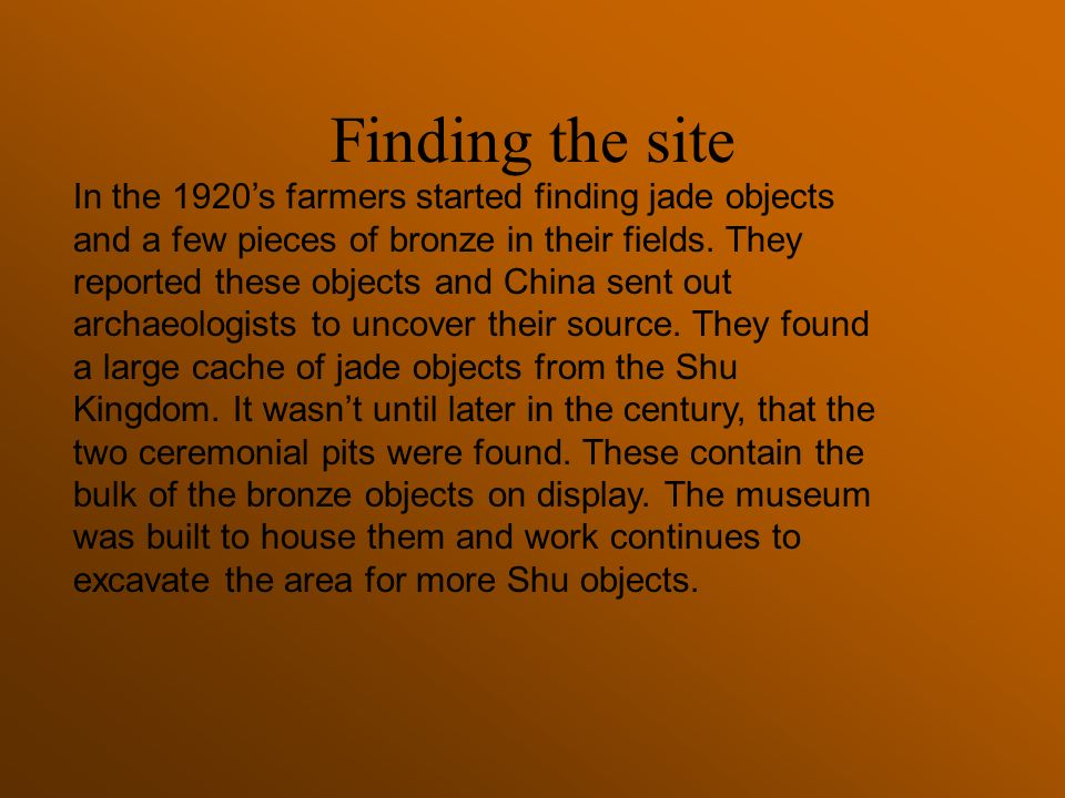 Chinese technology and art reflects the society which created it.