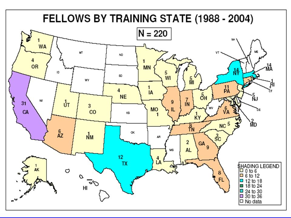 DPN FELLOWS BY TRAINING UNIVERSITY