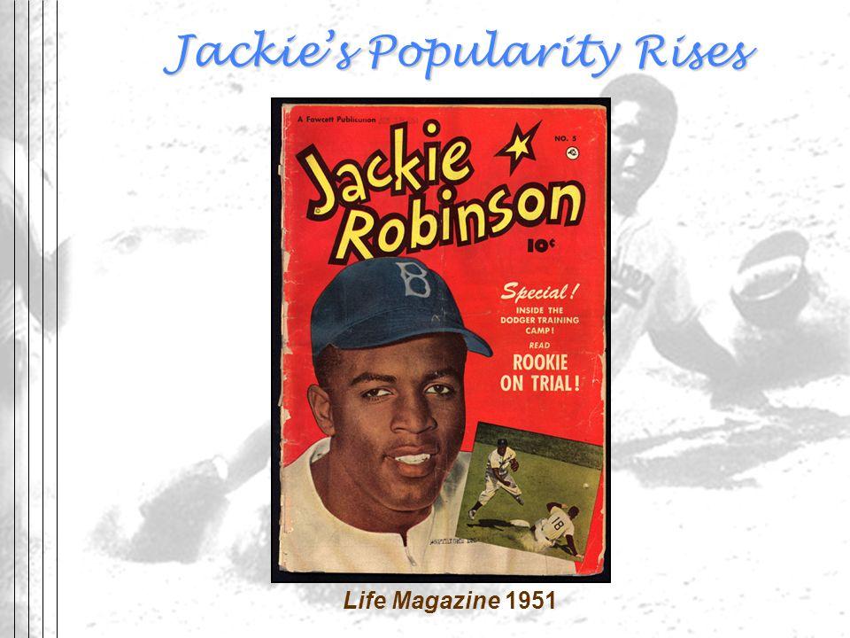 Jackies Popularity Rises Life Magazine 1951