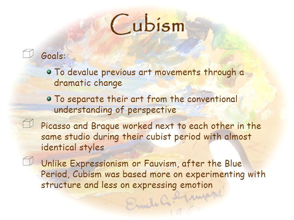 CubismCubism 1900s – 1920s
