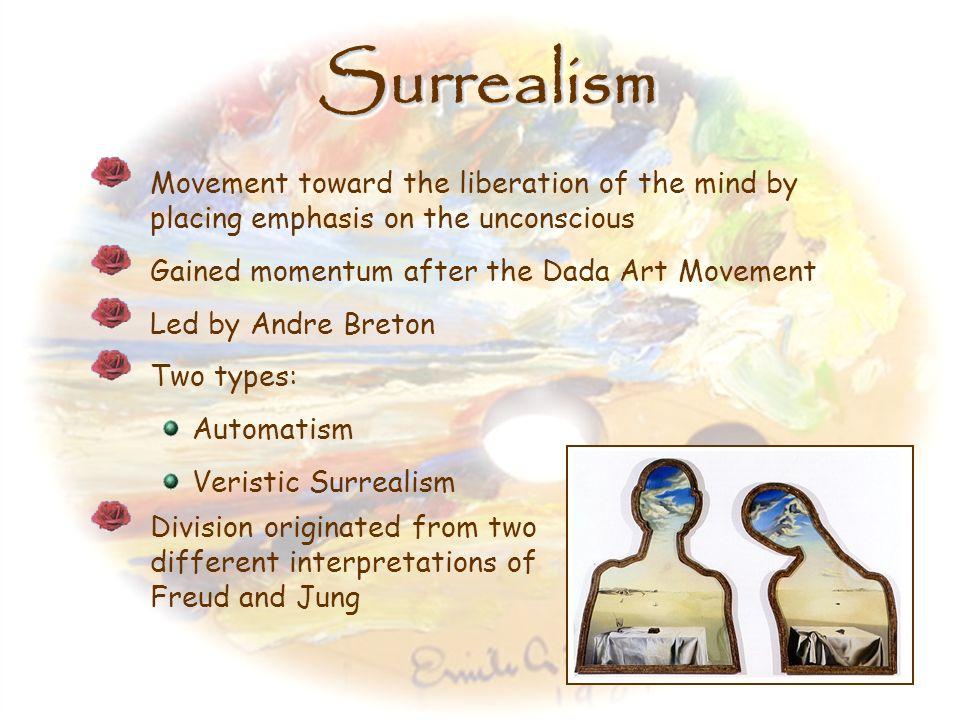 SurrealismSurrealism 1920s – 1950s