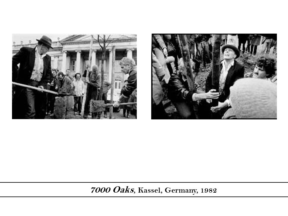7000 Oaks, Kassel, Germany, 1982