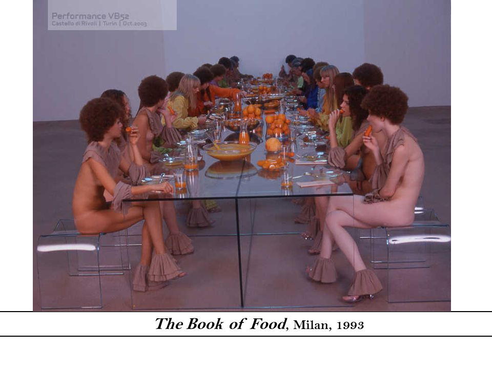 The Book of Food, Milan, 1993