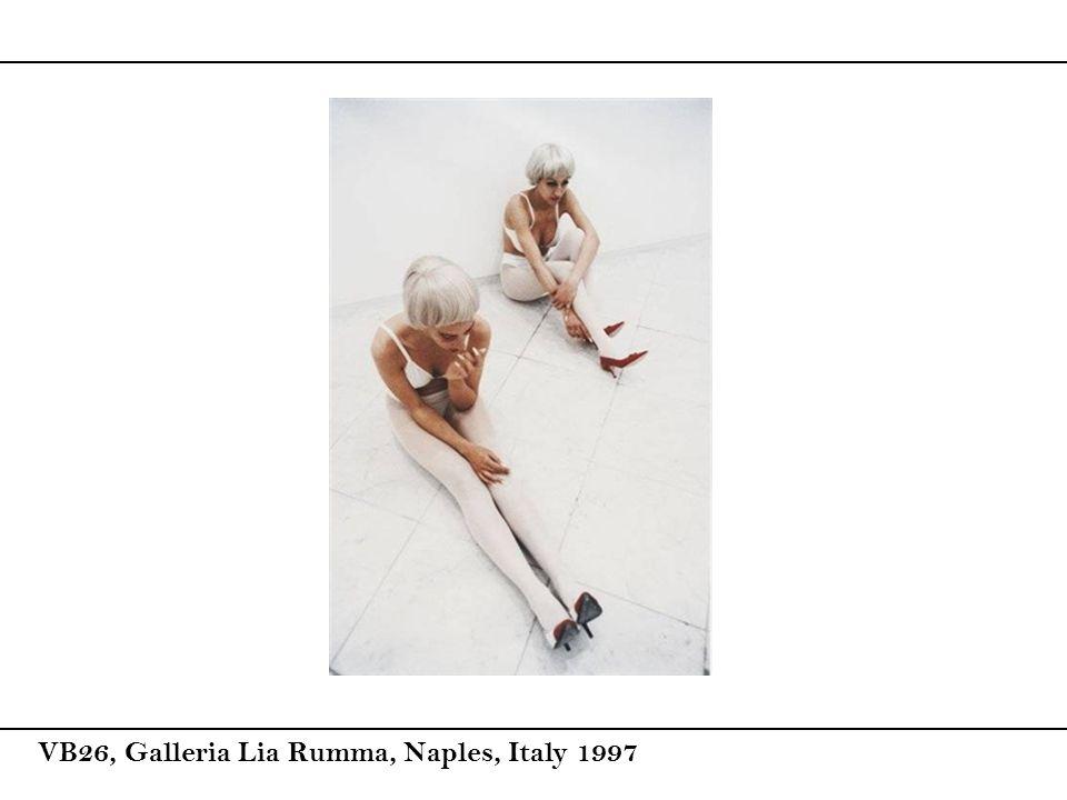 VB26, Galleria Lia Rumma, Naples, Italy 1997
