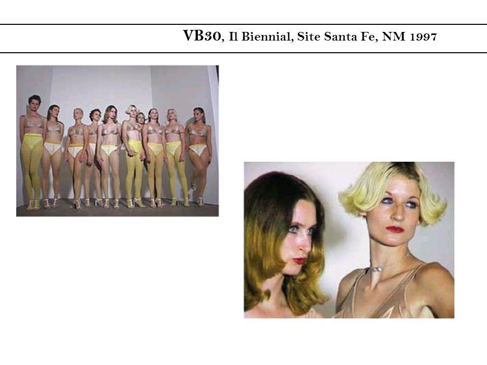 VB30, Il Biennial, Site Santa Fe, NM 1997
