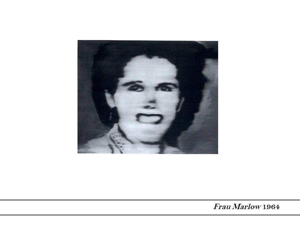 Frau Marlow 1964