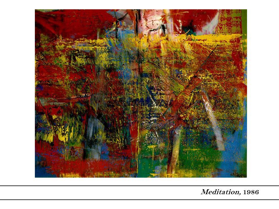 Meditation, 1986