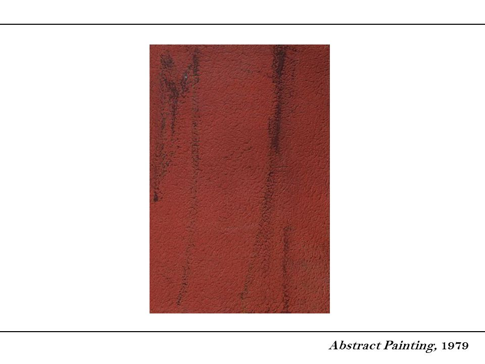 Abstract Painting, 1979
