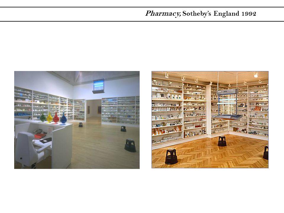 Pharmacy, Sothebys England 1992
