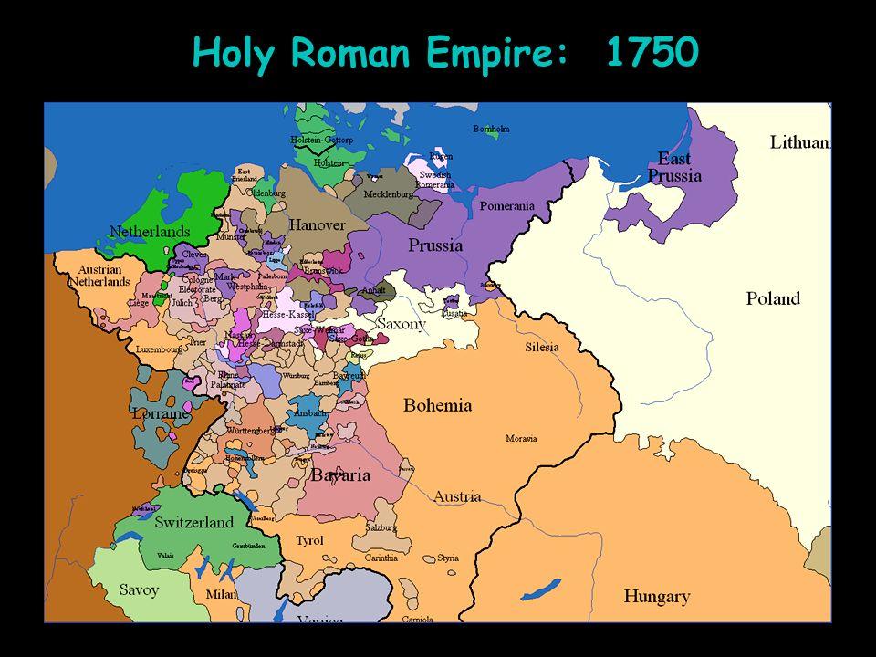 Holy Roman Empire: 1750