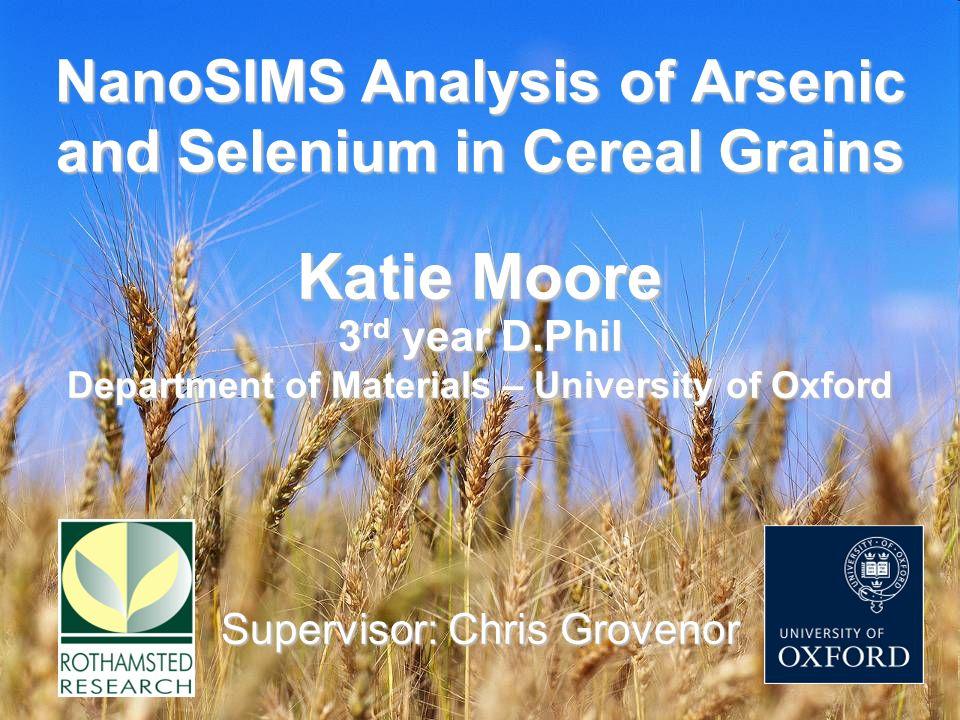 Selenium in Wheat Grain Aleurone cellStarch grains 31 P 16 O - 80 Se - 32 S - 12 C 14 N - 16 O - 12 C 14 N - 16 O - 80 Se - Ref: K.