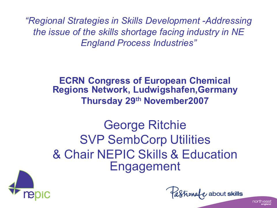 City Regions Physical Centres Private Finance Science & Industry Council Regional Partnership NaREC Related Activities e.g.