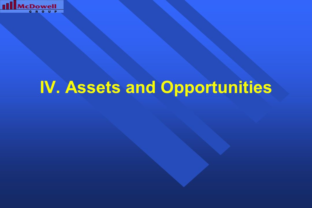 IV. Assets and Opportunities