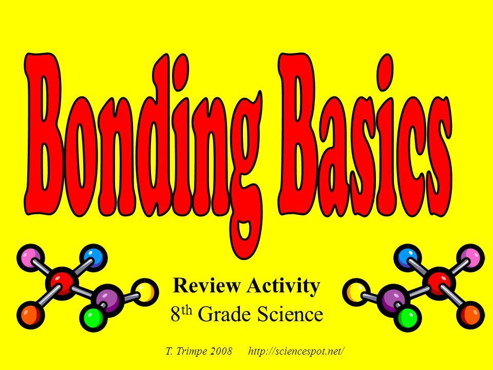 Review Activity 8 th Grade Science T. Trimpe 2008 http://sciencespot.net/