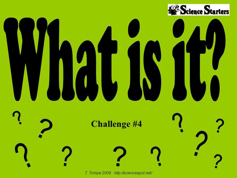 Challenge #4 T. Trimpe 2008 http://sciencespot.net/