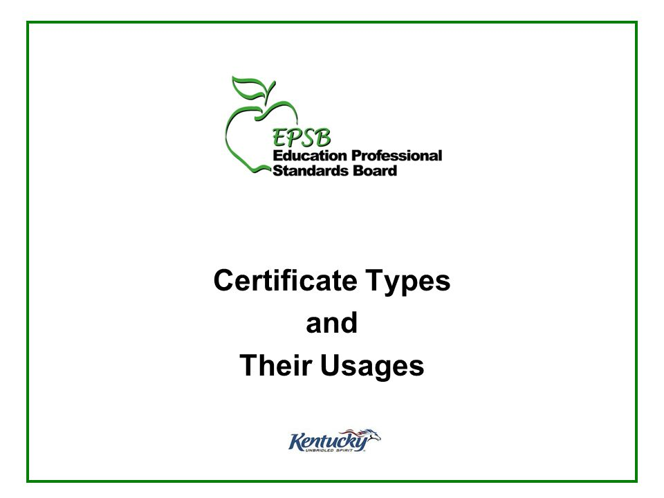 HQ Considerations when hiring Alternative Route Candidates Those on a TP certificate are NOT necessarily Highly Qualified for federal reporting purposes –Special education TPs are HQ for special education ONLY, not for any content areas –Other content area TPs are not HQ until they pass the appropriate KY Praxis test(s) or unless they hold an academic major in the content area they are teaching 12 www.epsb.ky.gov