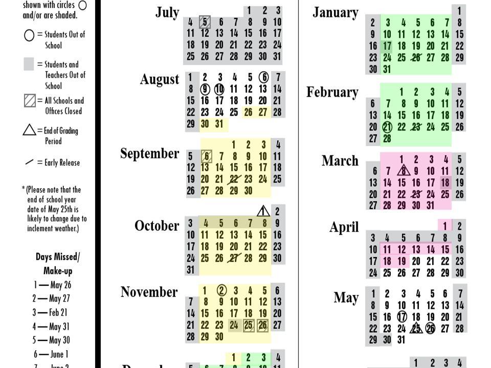 11 Calendar Example