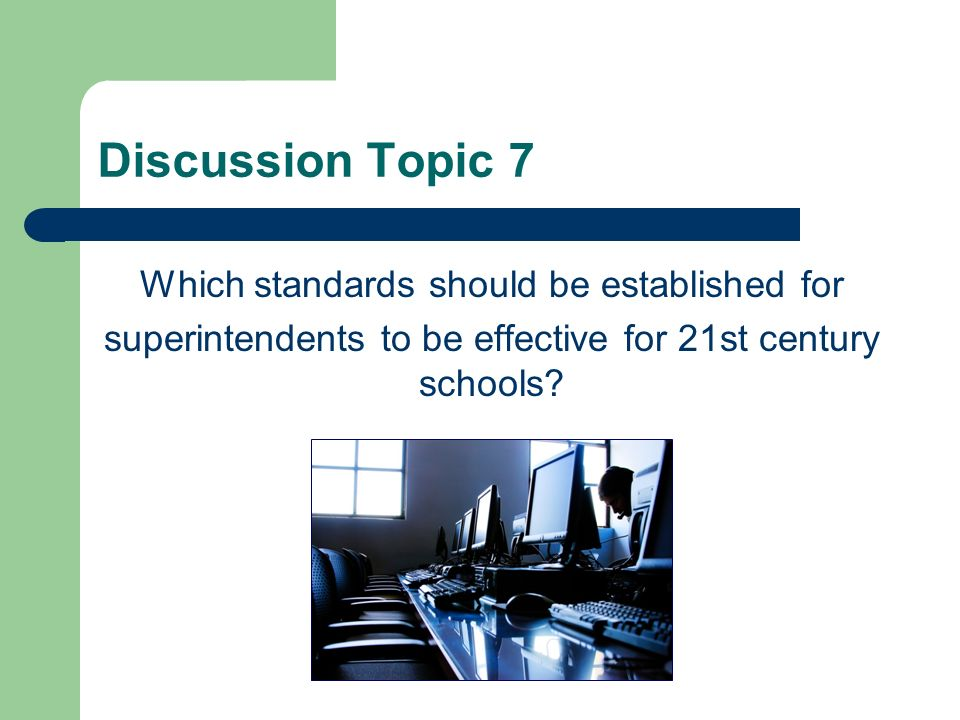 Discussion Topic 6 What practices/strategies need to be improved