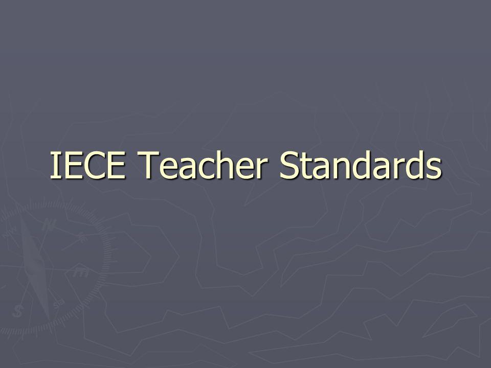 IECE Teacher Standards