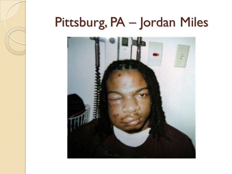 Pittsburg, PA – Jordan Miles
