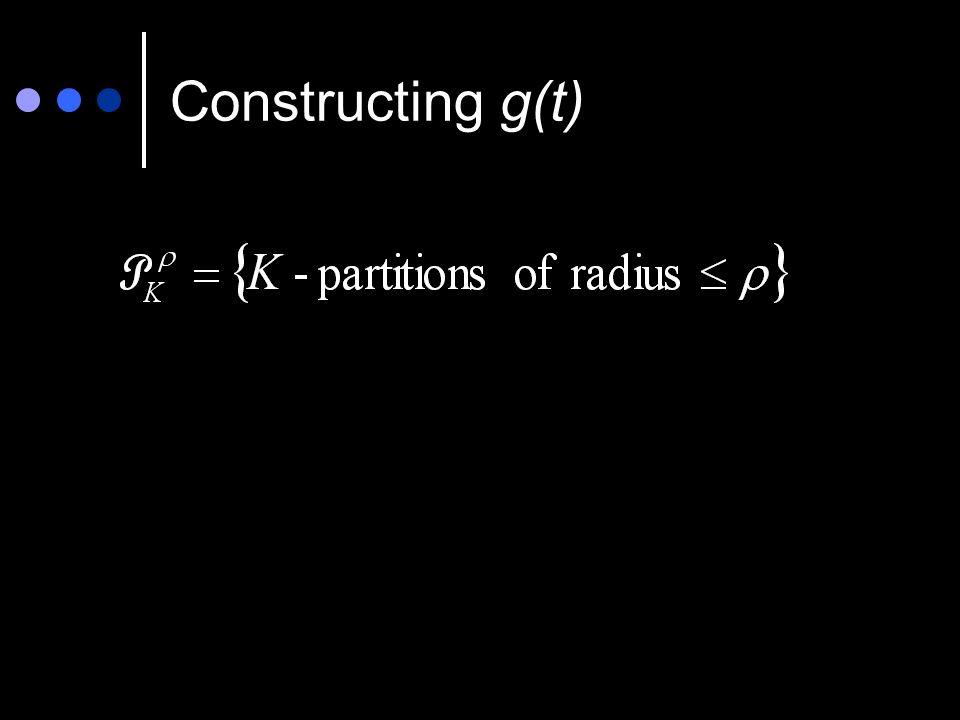 Constructing g(t)